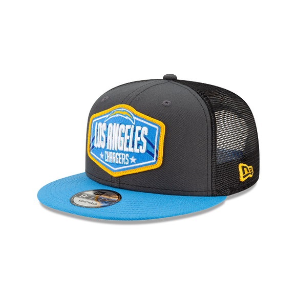 LOS ANGELES CHARGERS 2021 DRAFT 9FIFTY SNAPBACK