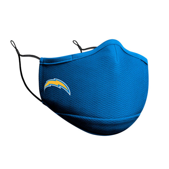 LOS ANGELES CHARGERS FACE MASK-POWDER BLUE