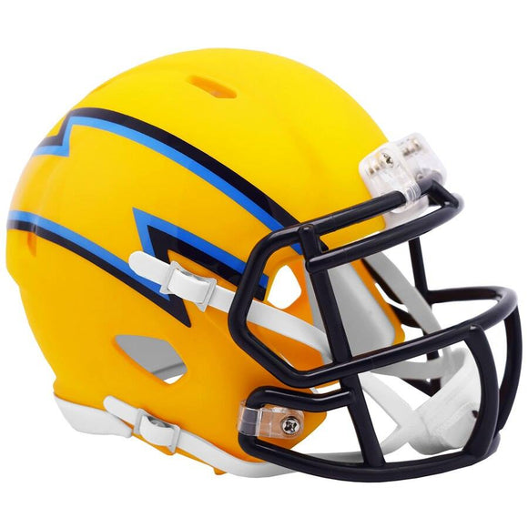 LOS ANGELES CHARGERS MINI SPEED AMP HELMET