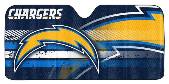 LOS ANGELES CHARGERS SUN SHADE VISOR