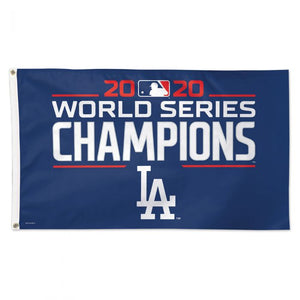 LOS ANGELES DODGERS 2020 WORLD SERIES CHAMPS 3X5 FLAG