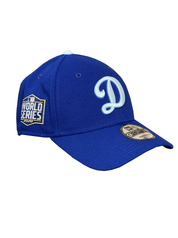 LOS ANGELES DODGERS 2020 WORLD SERIES PATCH 9FORTY ADJUSTABLE