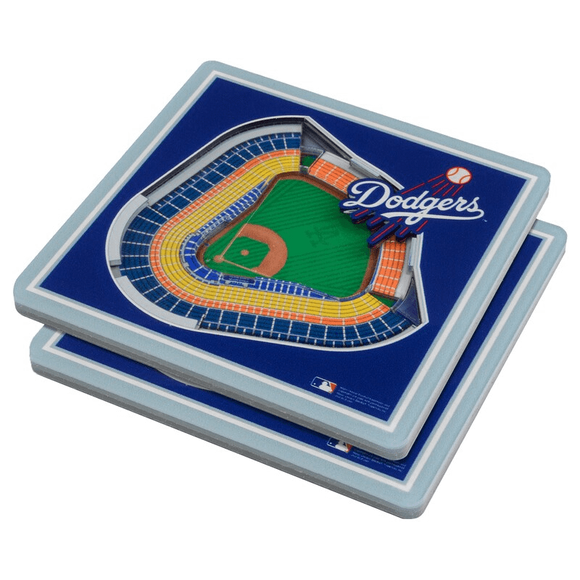 LOS ANGELES DODGERS 3D COASTER