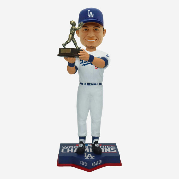 LOS ANGELES DODGERS COREY SEAGER WORLD SERIES MVP BOBBLE HEAD