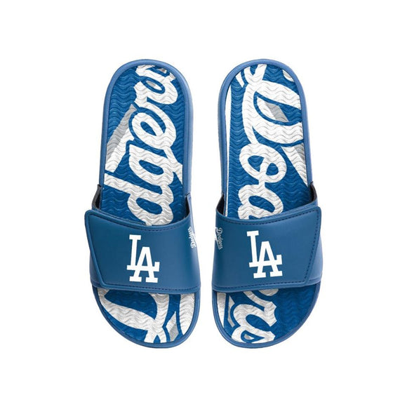 LOS ANGELES DODGERS MEN'S GEL SLIDES