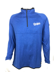LOS ANGELES DODGERS MENS 1/4 ZIP PULLOVER