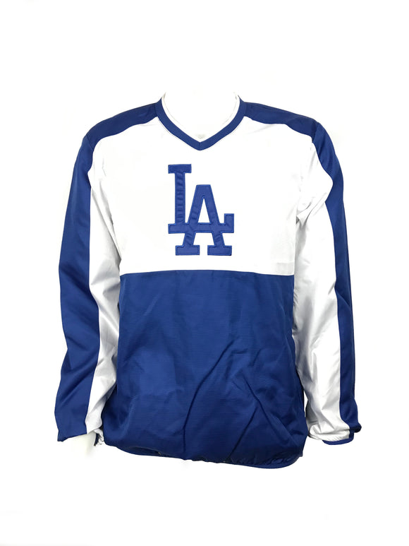 LOS ANGELES DODGERS MENS HIGH HEAT PULLOVER JACKET