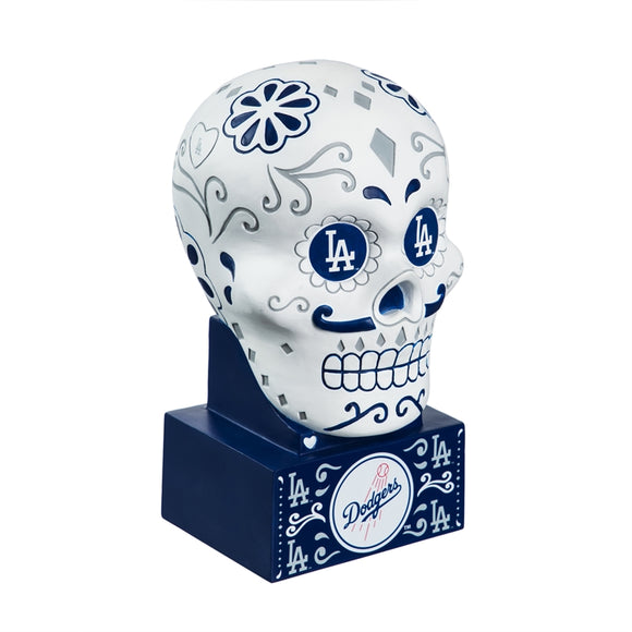 LOS ANGELES DODGERS SUGAR SKULL HEAD