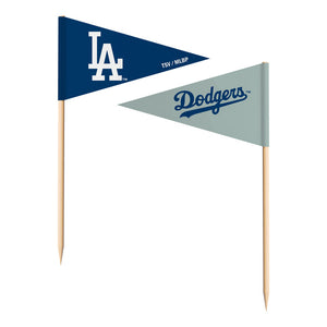 LOS ANGELES DODGERS TOOTHPICK FLAGS