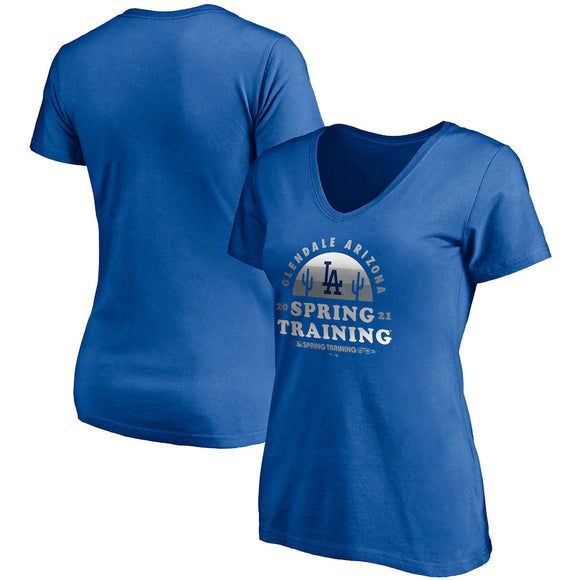 LOS ANGELES DODGERS WOMEN'S 2021 SPRING TRAINING T-SHIRT