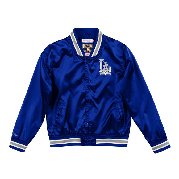 LOS ANGELES DODGERS WOMEN'S SATIN JACKET