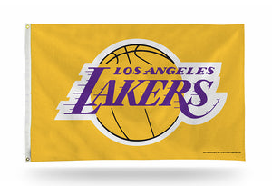 LOS ANGELES LAKERS 3X5 FLAG