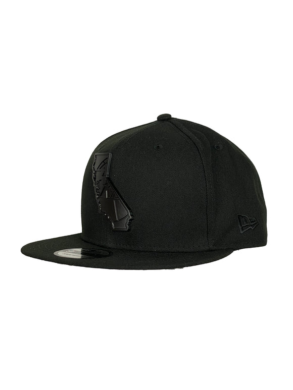 LOS ANGELES LAKERS BLACK STATE 9FIFTY SNAPBACK
