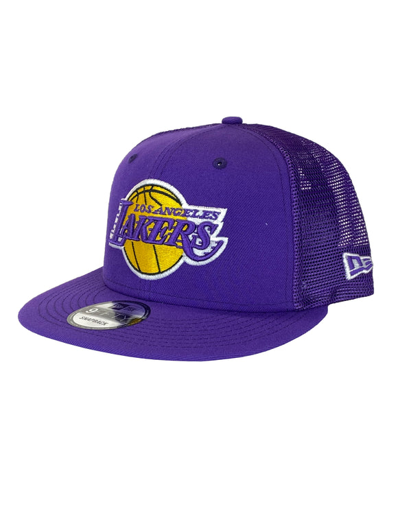 LOS ANGELES LAKERS CLASSIC TRUCKER 9FIFTY SNAPBACK