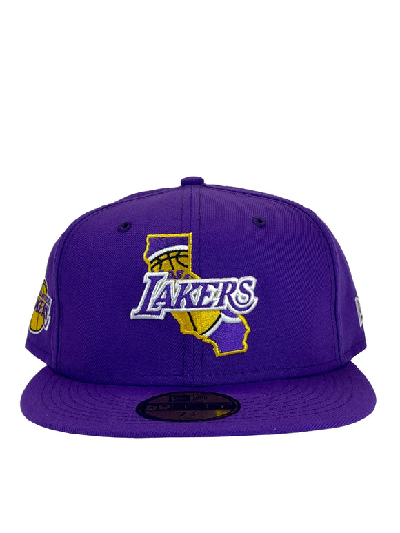 LOS ANGELES LAKERS LOCAL C1 59FIFTY FITTED