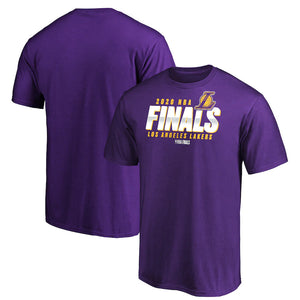 LOS ANGELES LAKERS MEN'S FINALS FINAL BUZZER T-SHIRT