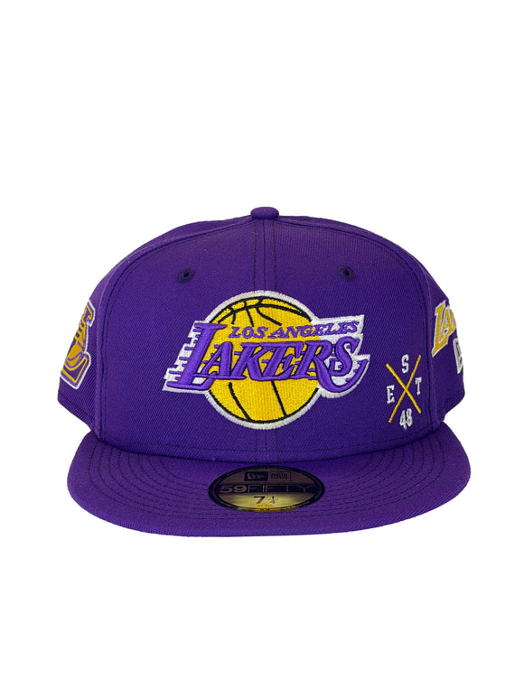 LOS ANGELES LAKERS MULTI 59FIFTY
