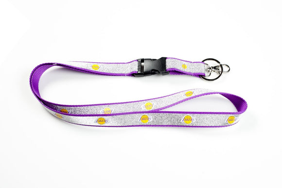 LOS ANGELES LAKERS SPARKLE LANYARD