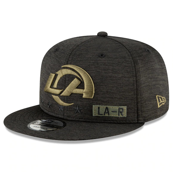 LOS ANGELES RAMS 2020 SALUTE TO SERVICE 9FIFTY SNAPBACK