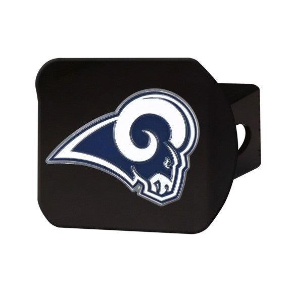 LOS ANGELES RAMS BLACK LOGO HITCH