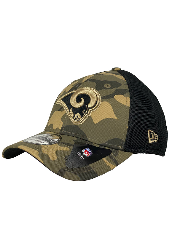 LOS ANGELES RAMS CAMO NEO 39THIRTY FLEX FIT
