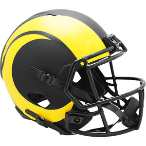 LOS ANGELES RAMS ECLIPSE FULL SIZE REPLICA SPEED HELMET