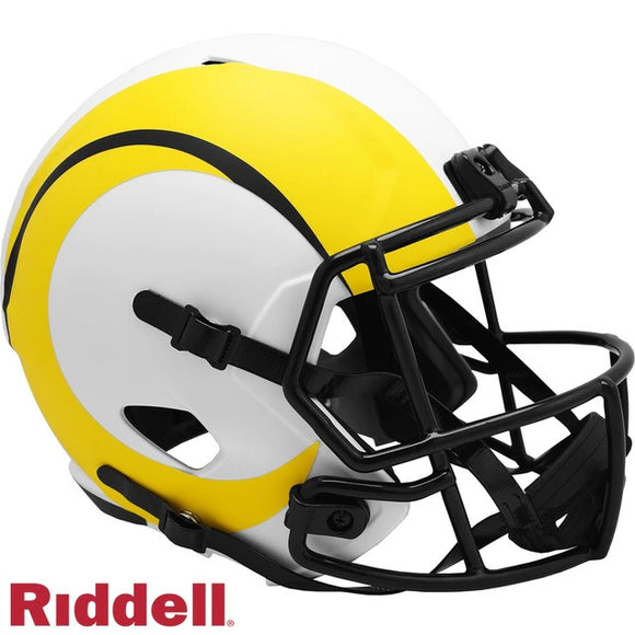 LOS ANGELES RAMS FULL SIZE LUNAR REPLICA SPEED HELMET