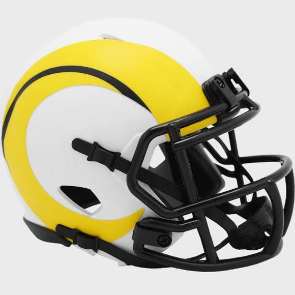 LOS ANGELES RAMS LUNAR MINI SPEED HELMET