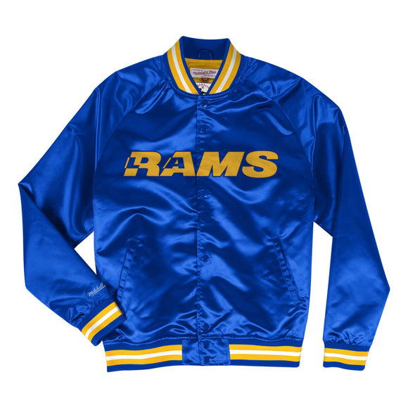 LOS ANGELES RAMS MEN'S LIGHTWEIGHT SATIN JACKET