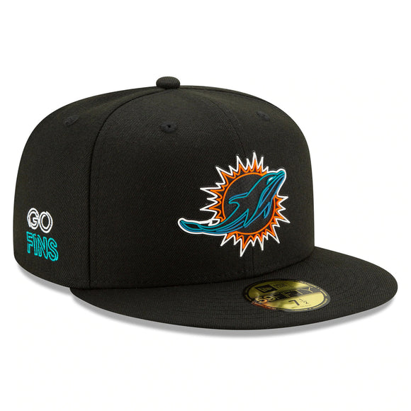 MIAMI DOLPHINS 2020 DRAFT DAY 59FIFTY FITTED