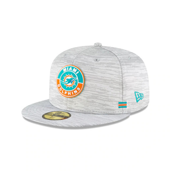 MIAMI DOLPHINS 2020 SIDELINE 59FIFTY FITTED
