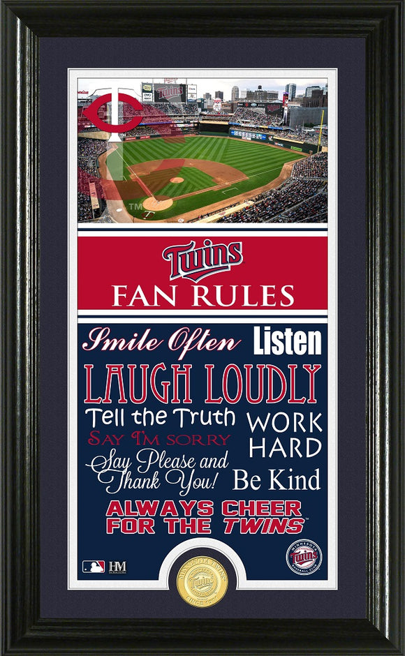 MINNESOTA TWINS FAN RULES SUPREME BRONZE COIN PHOTO MINT