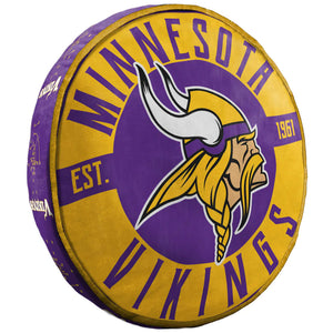 "MINNESOTA VIKINGS 15"" CLOUD PILLOW"