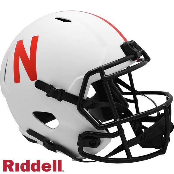 NEBRASKA CORNHUSKERS LUNAR MINI SPEED HELMET