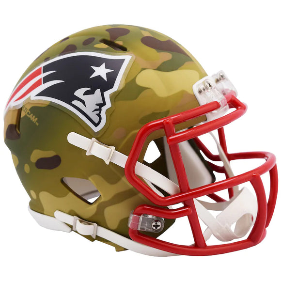 NEW ENGLAND PATRIOTS CAMO MINI SPEED HELMET