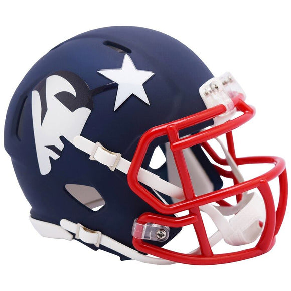 NEW ENGLAND PATRIOTS MINI SPEED AMP HELMET