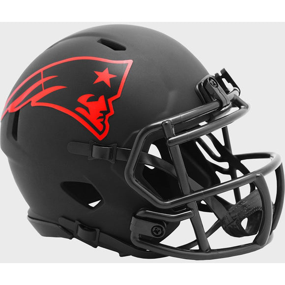 NEW ENLAND PATRIOTS ECLIPSE MINI SPEED HELMET