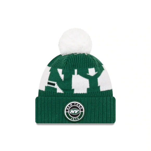 NEW YORK JETS SIDELINE KNIT