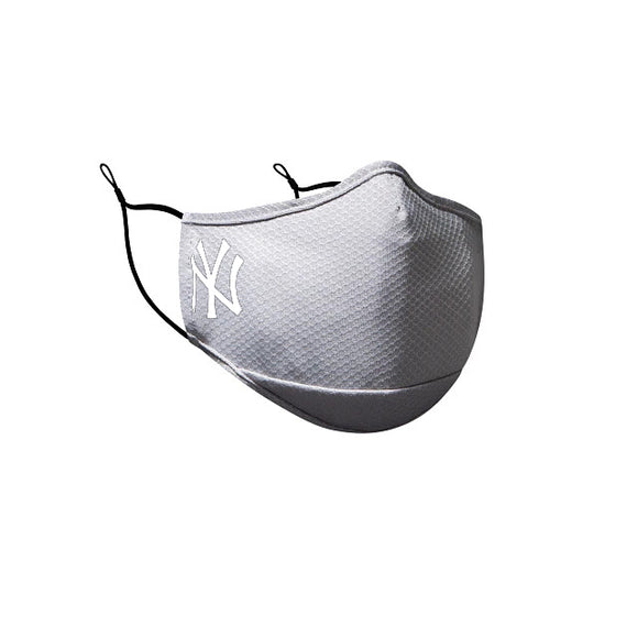 NEW YORK YANKEES GRAY FACE MASK