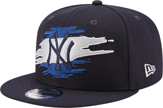 NEW YORK YANKEES LOGO TEAR 9FIFTY SNAPBACK