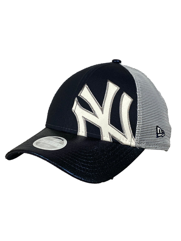 NEW YORK YANKEES WOMEN'S LOGO GLAM 9FORTY ADJUSTABLE