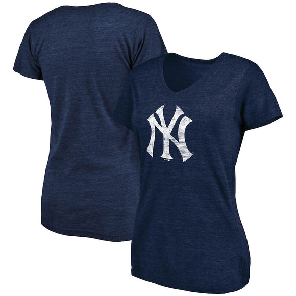 NEW YORK YANKEES WOMEN'S WEATHERED LOGO T-SHIRT