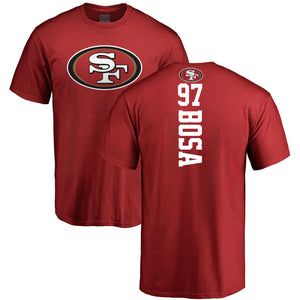NICK BOSA MEN'S PLAYMAKER NAME NUMBER T-SHIRT