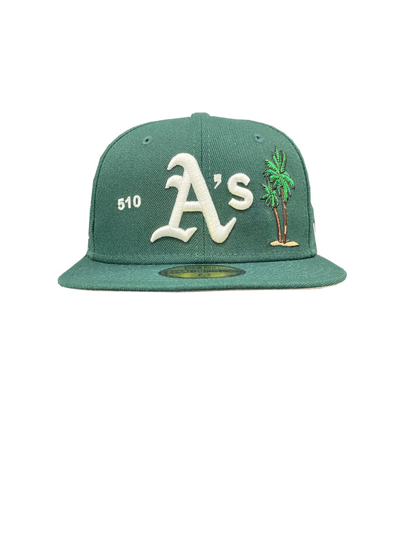 OAKLAND ATHETICS LOCAL 59FIFTY FITTED