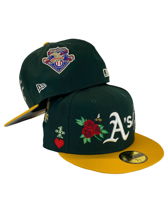 OAKLAND ATHLETICS ICON 2.0 59FIFTY FITTED