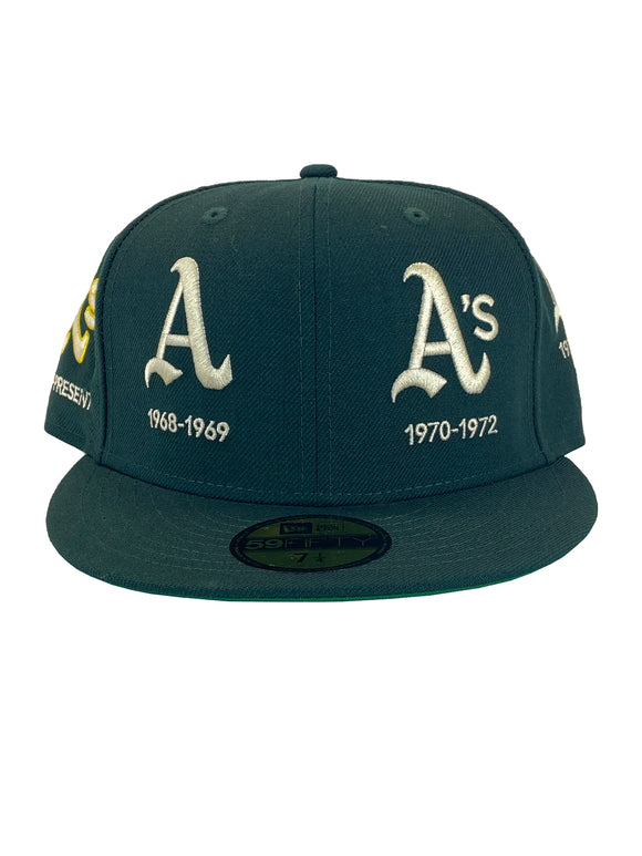 OAKLAND ATHLETICS LIFE QUARTER 59FIFTY FITTED