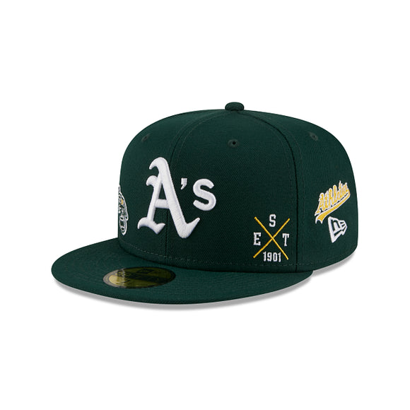 OAKLAND ATHLETICS MULTI 59FIFTY FITTED