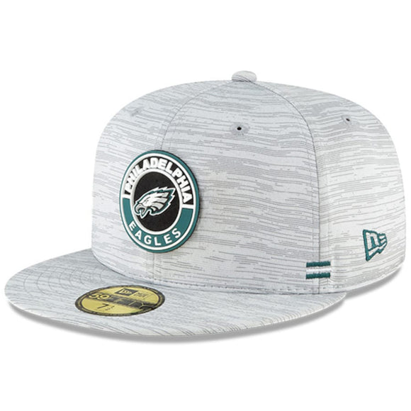 PHILADELPHIA EAGLES 2020 SIDELINE 59FIFTY FITTED
