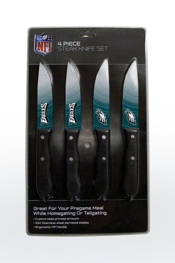 PHILADELPHIA EAGLES 4PK KNIFE SET