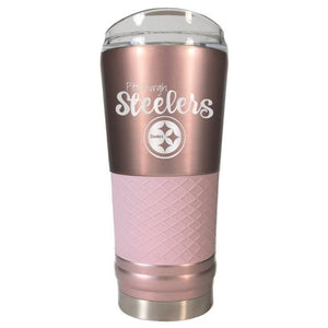 PITTSBURGH STEELERS ROSEGOLD DRAFT TUMBLER